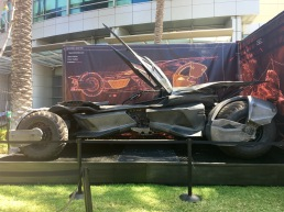 The Batmobile. I miss the Dark Knight version.