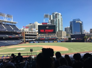 """Mr. Robot"" VR Experience at Petco Park."