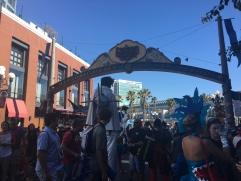 The Gaslamp. Complete with Elvis on stilts being attacked by sharks?