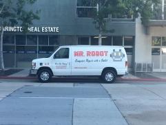 """""""Mr. Robot"""" van. Hop in. Looks legit."""