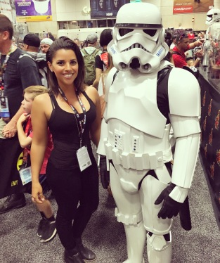 Can't go home without a stormtrooper pic. It's a rule.
