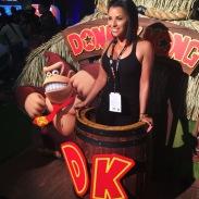 That DK photobomb.