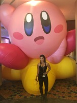 I don't play Smash Bros. unless you let me play as Kirby. All I do is float and smash.