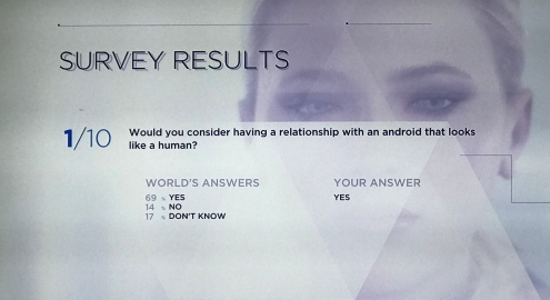 Detroit: Become Human Survey